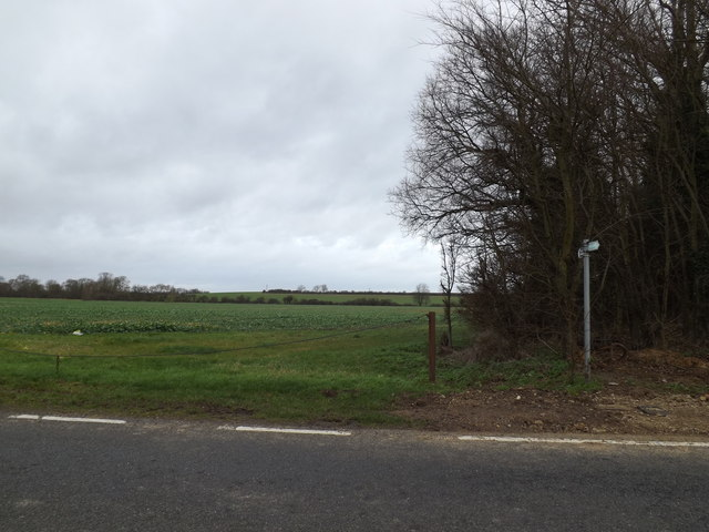 Footpath to the A428 Cambridge Road