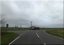 TL1957 : B1046 St.Neots Road, Eynesbury by Adrian Cable