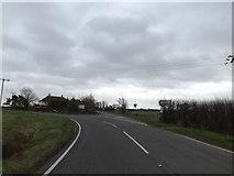 TL1957 : B1046 Potton Road, Eynesbury by Adrian Cable