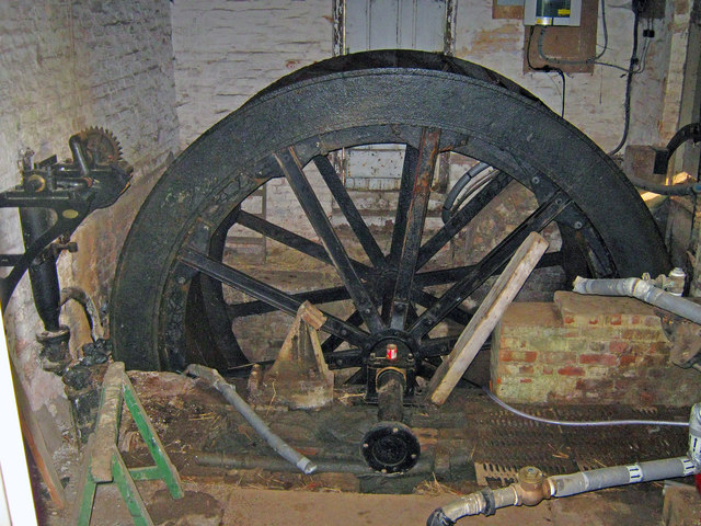 Interior of the Mill at Belton House