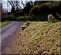 SO5210 : Mounting block near Old Church Cottage, Penallt by Jaggery