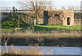 TL2799 : Pillbox by the River Nene by Alan Murray-Rust
