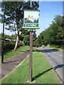 TL6265 : Exning village sign by Adrian S Pye