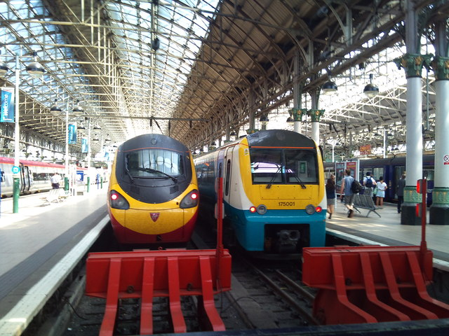 Pendolino and Coradia at Piccadilly