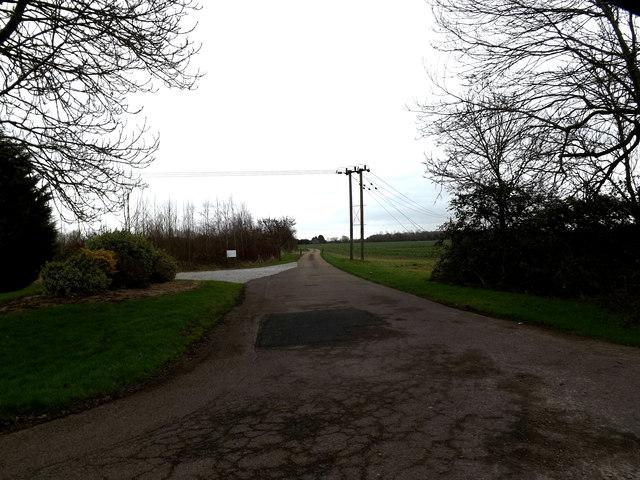 Entrance to Abbotsley Golf Club