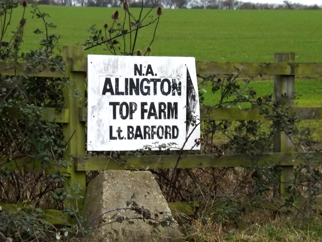 Top Farm sign