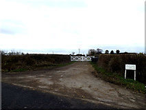 TL2055 : Entrance to Highfield Farm by Adrian Cable