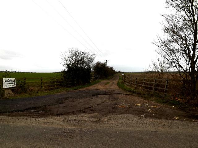 Entrance to Top Farm