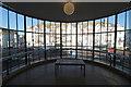 TQ7407 : Curved window, De La Warr Pavilion by Julian P Guffogg
