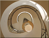 TQ7407 : Staircase, De La Warr Pavilion, Bexhill by J.Hannan-Briggs