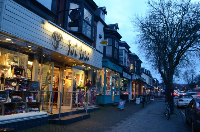 Shops on Ecclesall Road