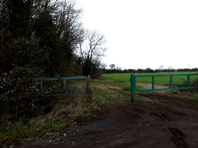 Bridleway to the B1046 St.Neots Road
