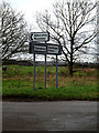 TL2155 : Roadsigns on Pitsdean Road by Adrian Cable