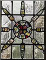 TQ4655 : Detail of Stained glass window, St Martin's church, Brasted by J.Hannan-Briggs
