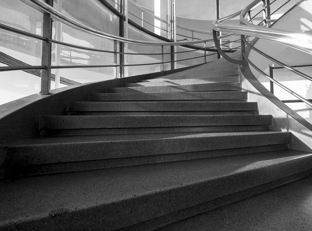 Staircase, De La Warr Pavilion, Bexhill