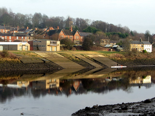 Across the Tyne to Newburn