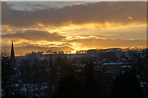 SK2168 : Bakewell sunset by Peter Barr