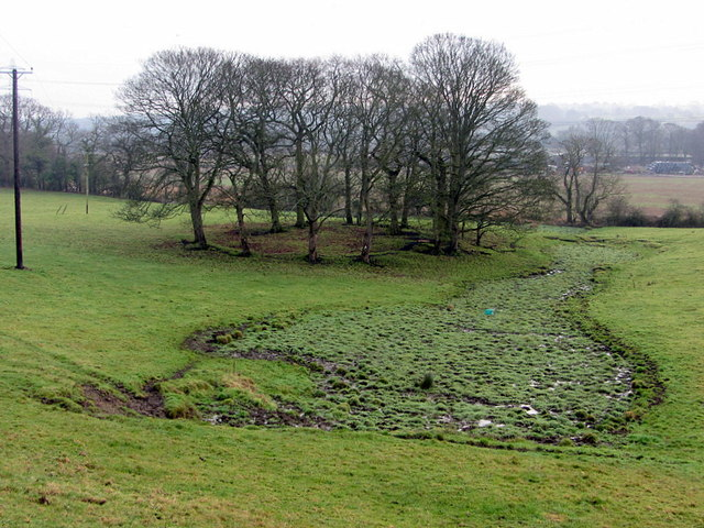 Former coal pit south of Heddon Hall
