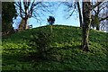 SK5804 : Leicester Castle Motte by Mat Fascione