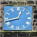 SJ9995 : Mottram Church Clockface by Gerald England