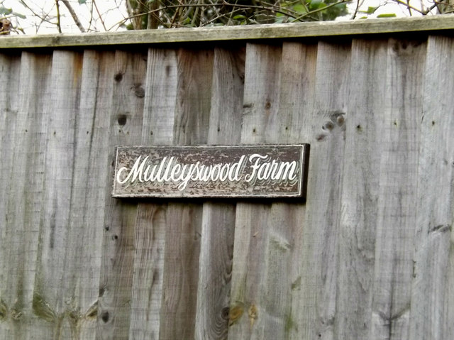 Mulleyswood Farm sign