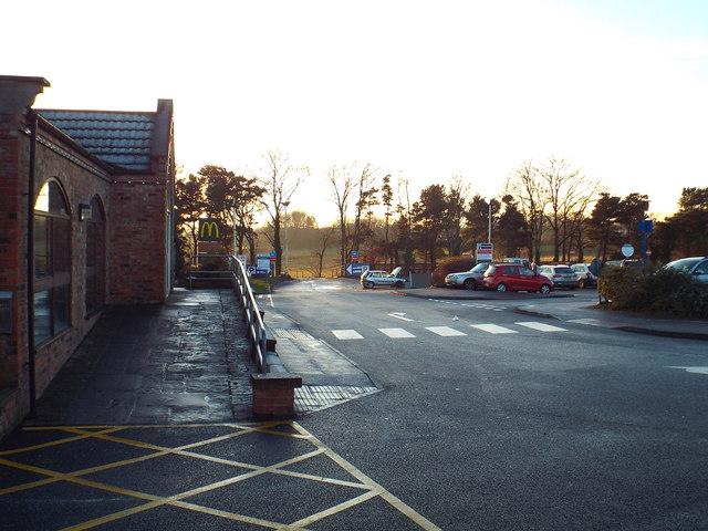 Leeming Bar services, near Northallerton