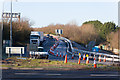 SU4416 : Roadworks at M27 Junction 5 by Peter Facey