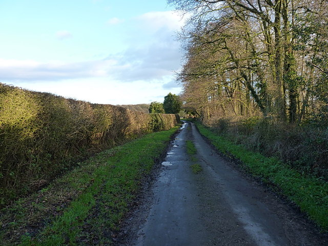 From Oulton back towards Norbury