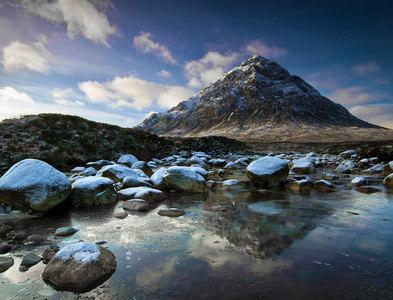 NN2454 : River Coupall by Steve Partridge