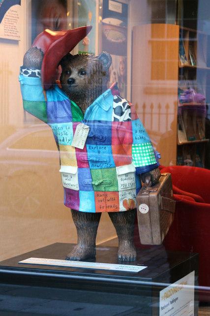"""Patchwork Paddington"", Paddington Bear, Childline"