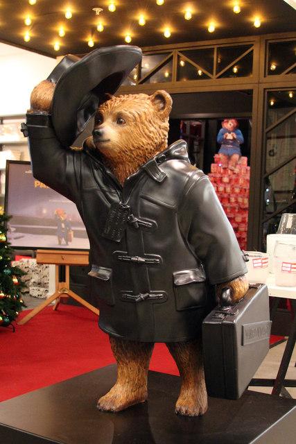 """Black Bear"", Paddington Bear, Selfridges"