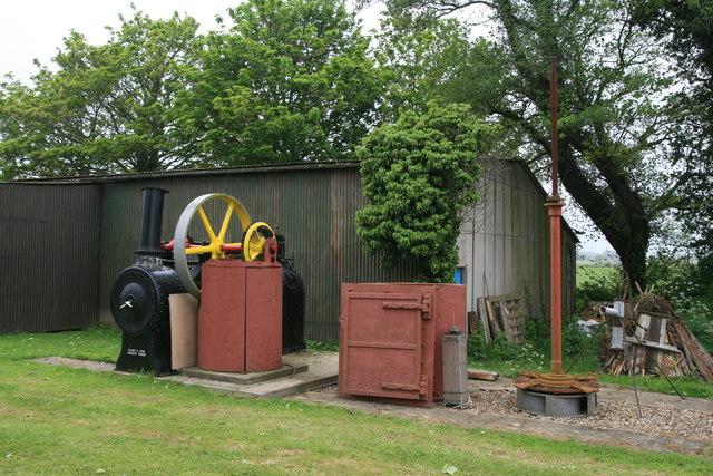 Morse Wind Energy Museum - steam drainage engine