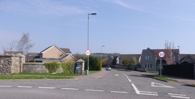 Access to William Mackie Road, Stonehaven