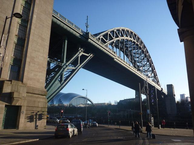 Tyneside Townscape : The Tyne Bridge, Newcastle