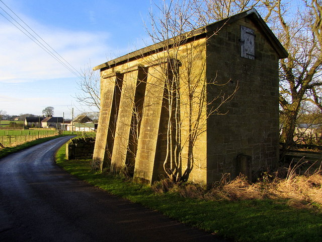 Water tower east of Heddon Steads