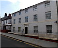 SM9515 : Upper Market Street late 20th century flats, Haverfordwest by Jaggery