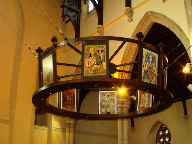 Interior of St. Patrick's, Hove
