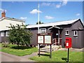 TF1022 : The village hall at Dyke, near Bourne, Lincolnshire by Rex Needle
