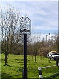 TM3674 : Walpole village sign by Adrian S Pye