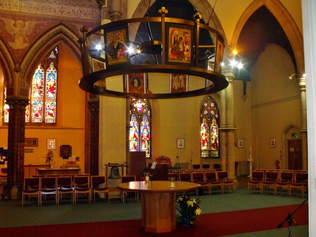 Interior of St. Patrick's, Hove