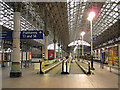 SJ8497 : Travelator at Manchester Piccadilly by Stephen Craven