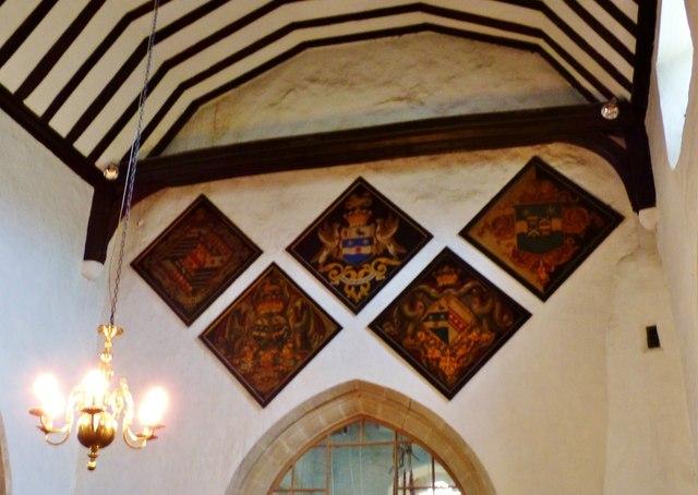 Hatchments, St. Margaret's, Buxted