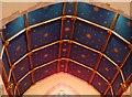 TV4899 : Chancel ceiling, St. Peter's, East Blatchington by nick macneill