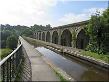 SJ2837 : Chirk Aqueduct, Llangollen Canal by Richard Rogerson