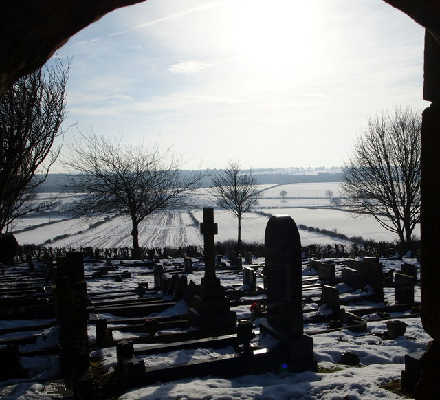 Cemetery, St Mary's Church, Blidworth, Notts.