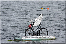 M2208 : Salmon on a bicycle by Ian Capper
