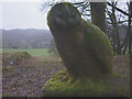 SD3391 : 'Meridian Owl', a sculpture at Grizedale Forest (2) by Karl and Ali