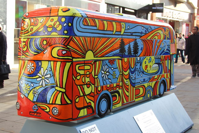 Bus Art, 'Poppy the Party Bus'