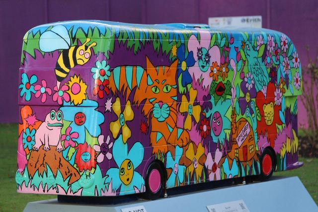 Bus Art, 'At the Bottom of the Garden'