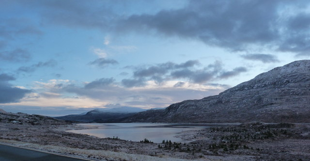 The Eastern end of Loch Cluanie